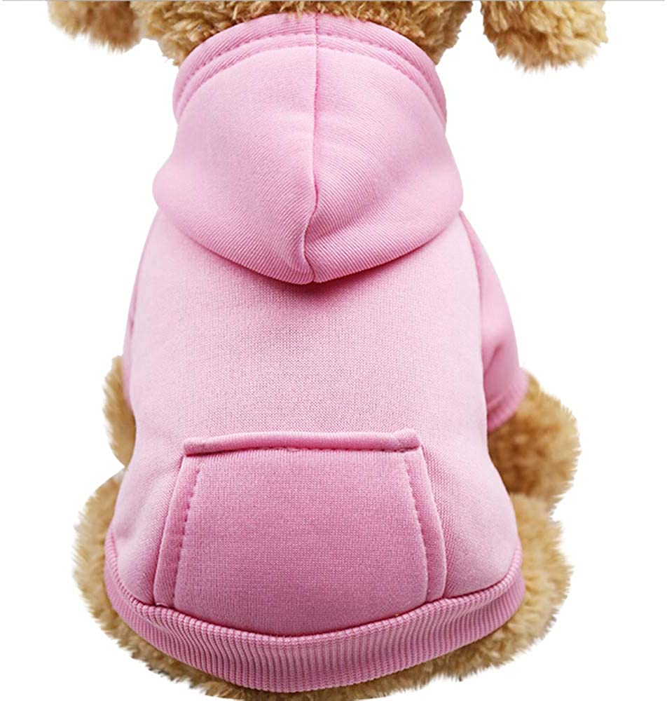Howstar Pet Clothes Hoodie Shirt Dogs Clothes Sweatshirts Cotton Puppy Tops Pullover