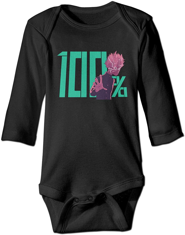 Mob Psycho 100 Baby Clothes Snap Long-Sleeved Crawling Clothes