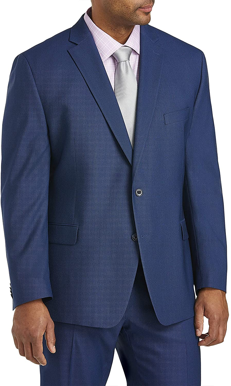 Michael Kors Birdseye Suit Jacket, Blue, 58 Long