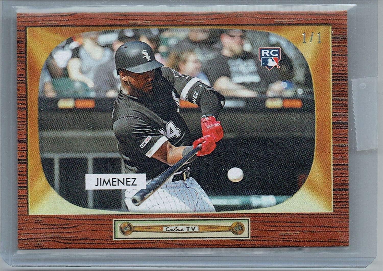 Eloy Jimenez 2019 55 Style Masterpiece 1 of 1 Rookie Card #2C White Sox - Baseball Slabbed Rookie Cards