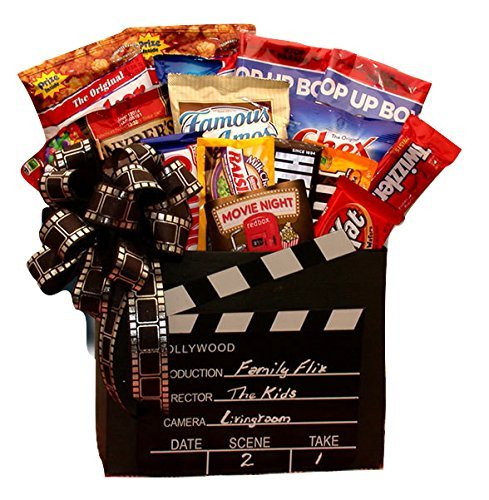 Give Him a Movie Night! A Red Box Movie Night Gift Basket