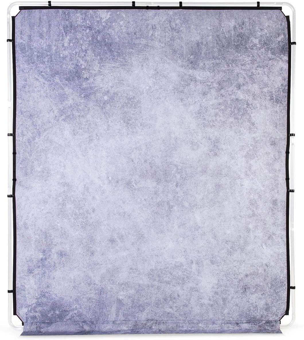 Lastolite EzyFrame Vintage Backround Cover, 6.5x7.5', Concrete