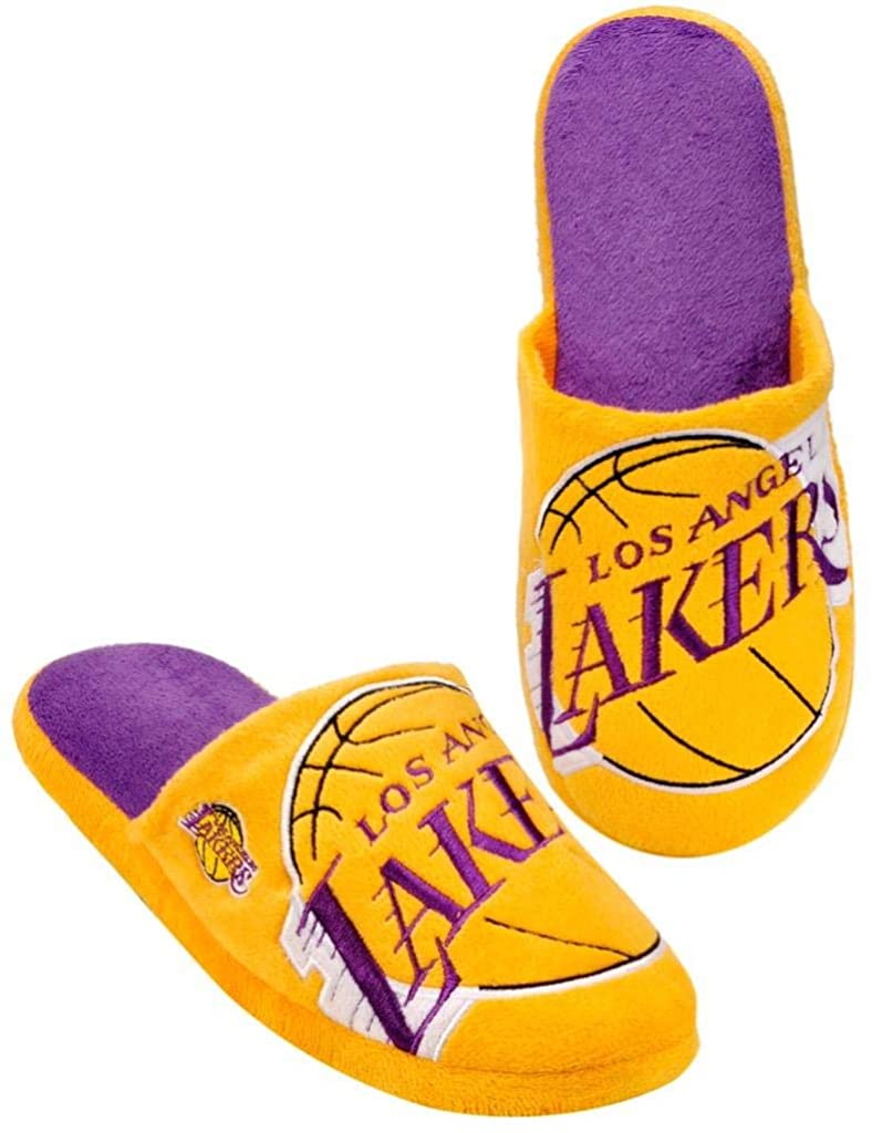 Forever Collectibles NBA Los Angeles Lakers Men's Slip On Slippers
