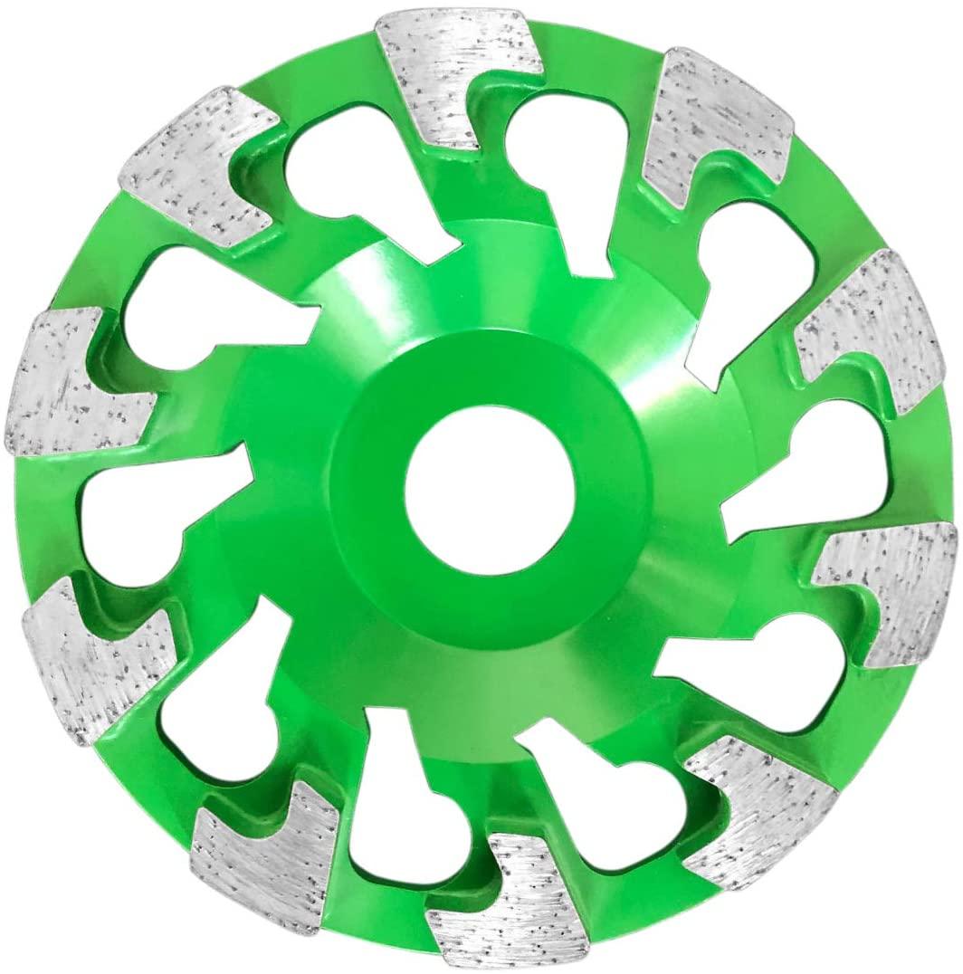 TECTOOL 18710 Diamant Schleifteller, Ø, grün Diamond Grinding Disc, Granite, Diameter 130, Green