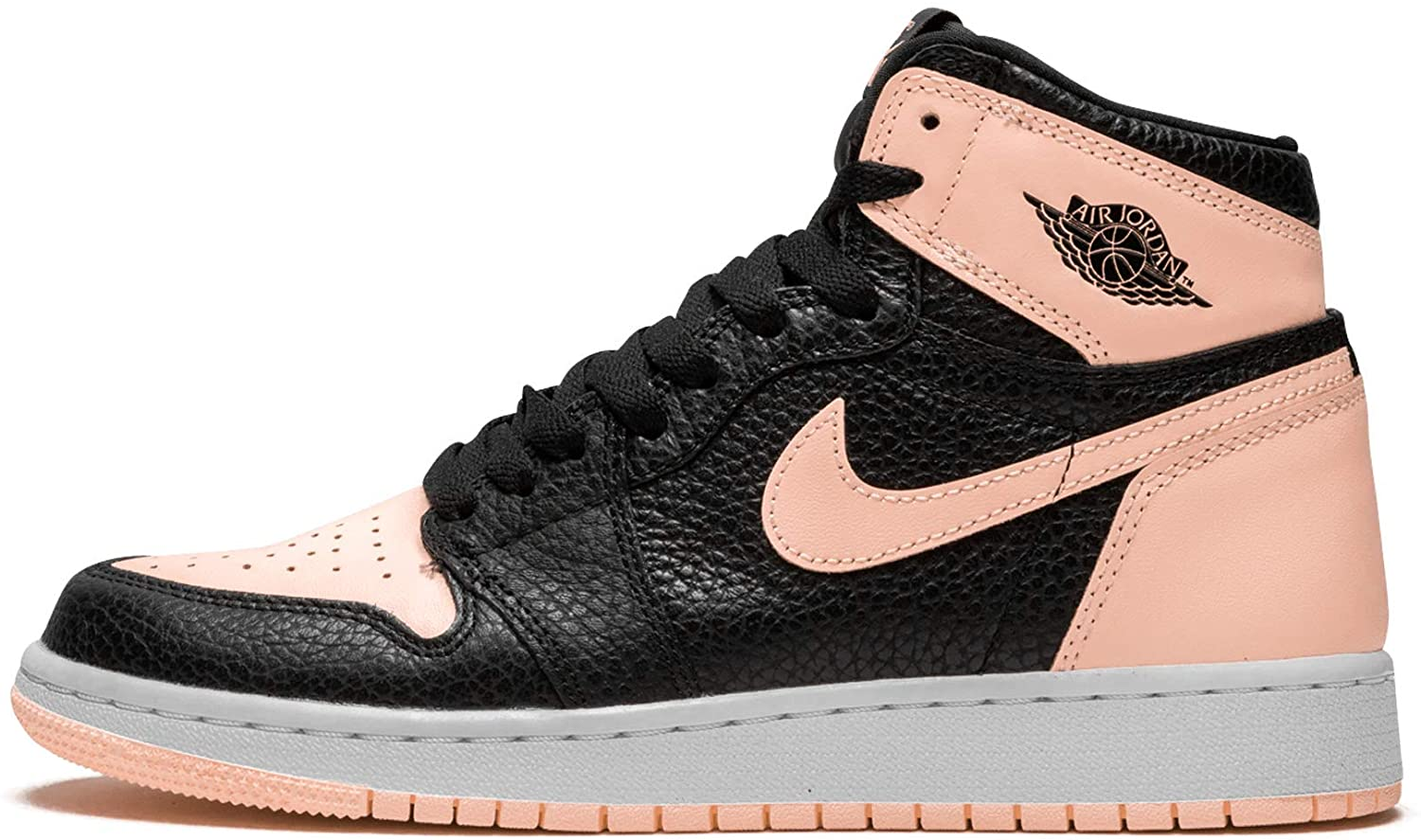 Jordan Air 1 Retro High OG GS (Black/Crimson Tint-White