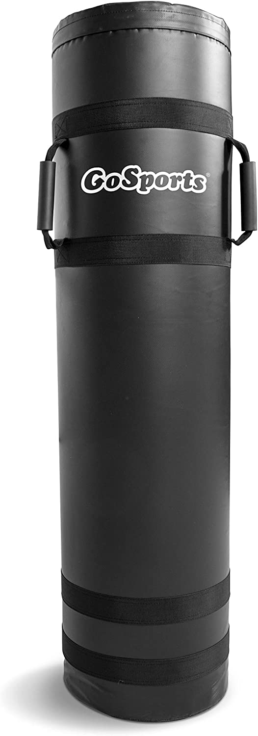 GoSports XL Tackle Dummy - 4ft x 1ft, Great for Martial Arts & Sports Training (Football, Basketball, Hockey, Lacrosse and More), Black