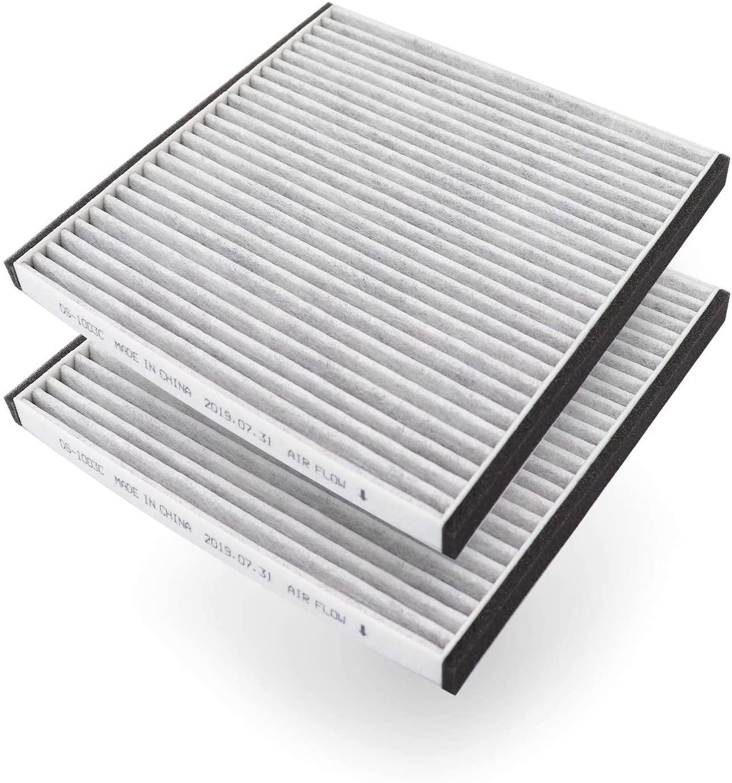DHgateBasics CF10133 Cabin Air Filter, 2-Pack