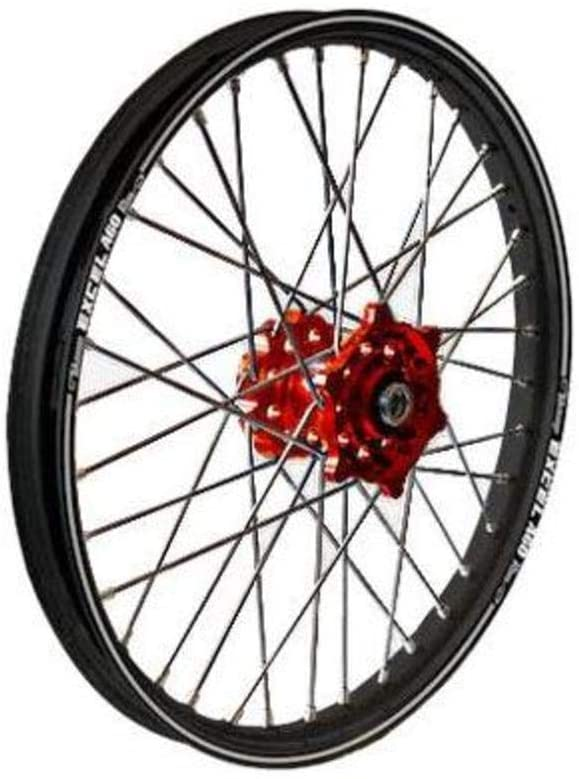 Talon MX Rear Wheel Set with Excel Rim - 2.15x18 - Red/Black , Rim Size: 18, Color: Red, Position: Rear 56-3155RB