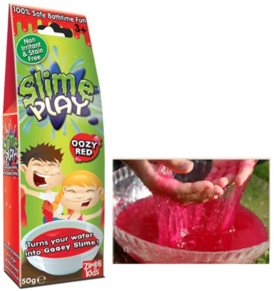 Jim Fly Kids Slime Play, Slime Baby: Red - 50g (2Set) / Jelly / Green / Liquid Monster 2Set / Gift / Safety / Bowl / Water / Powder / Children / Gift / Most Popular