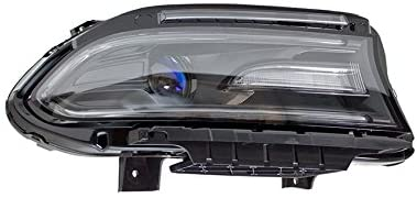 Rareelectrical NEW PASSENGER SIDE HEADLIGHT COMPATIBLE WITH DODGE CHARGER SE SRT 395 2015-2016 68214396AB CH2503270
