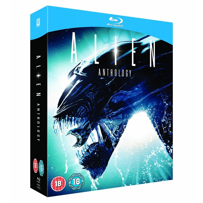 Alien Anthology 4 Disc Box Set [Blu-ray] (Region Free)