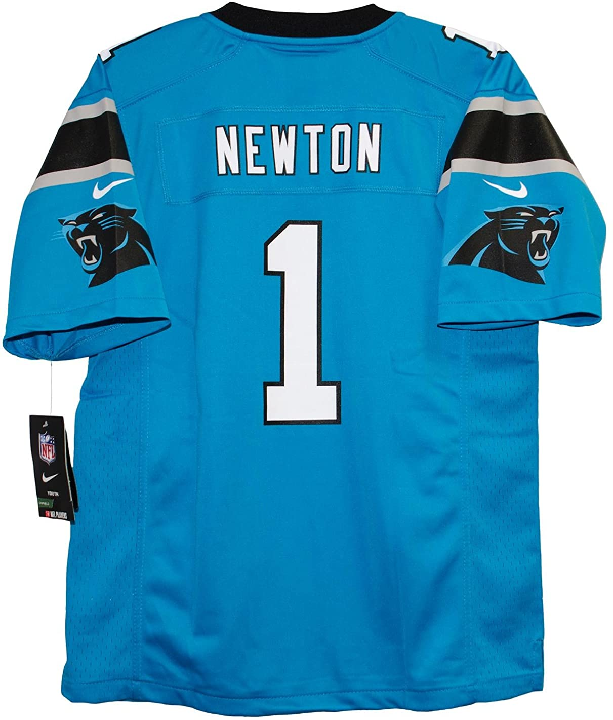 Cam Newton Carolina Panthers Youth Game Home Jersey - Panther Blue