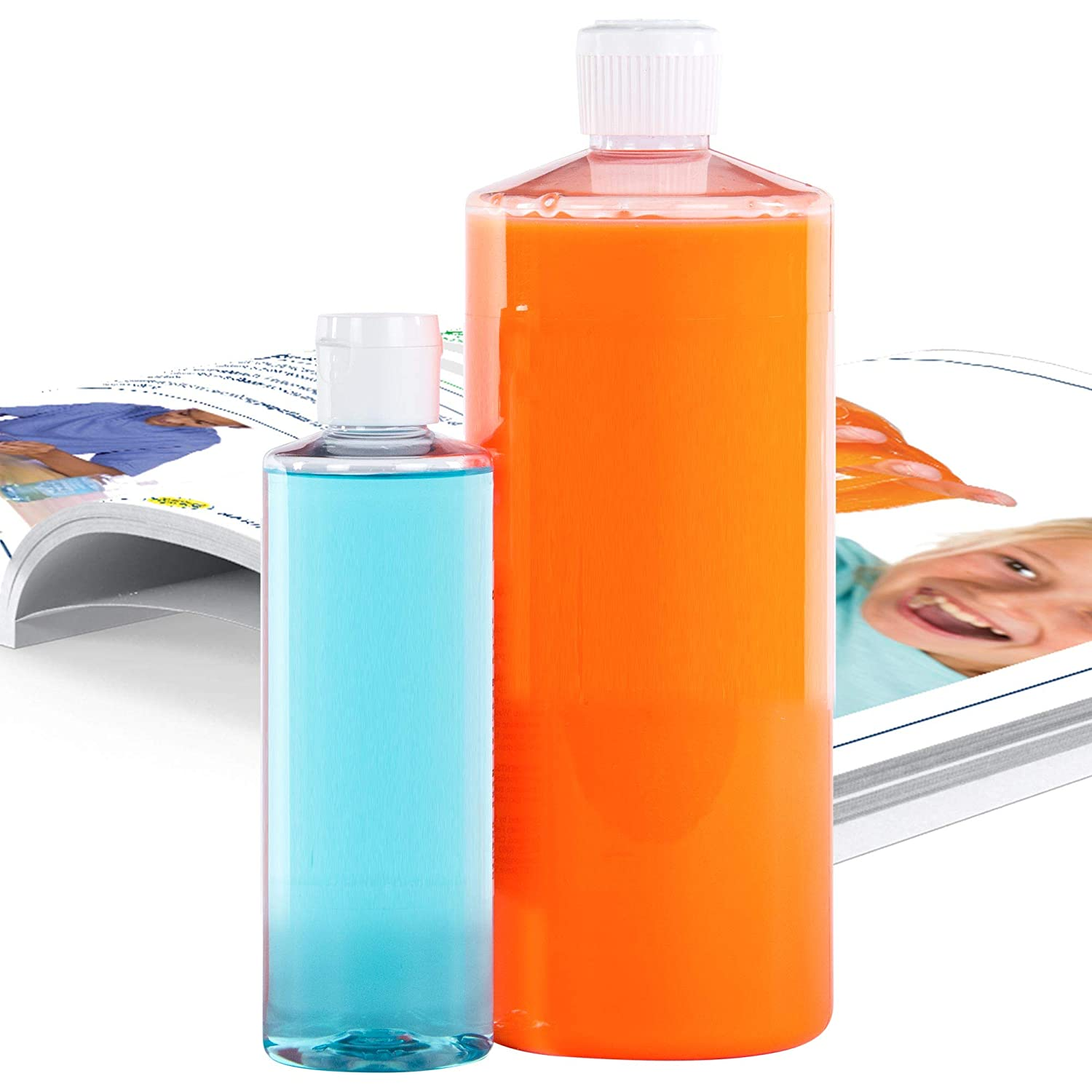 Steve Spangler Science DIY Slime Art Kit, Tangerine Orange – Easy to Create, Non-Glue Slime Formula, Makes an Excellent STEM Activity for Classrooms and Home Use (33.8 oz)