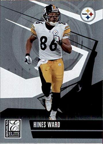 HINES WARD PITTSBURGH STEELERS GEORGIA BULLDOGS 2006 Donruss Elite #79 NFL Football Card