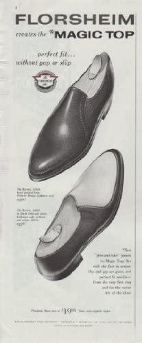 1961 Florsheim Shoes Ad Magic Top