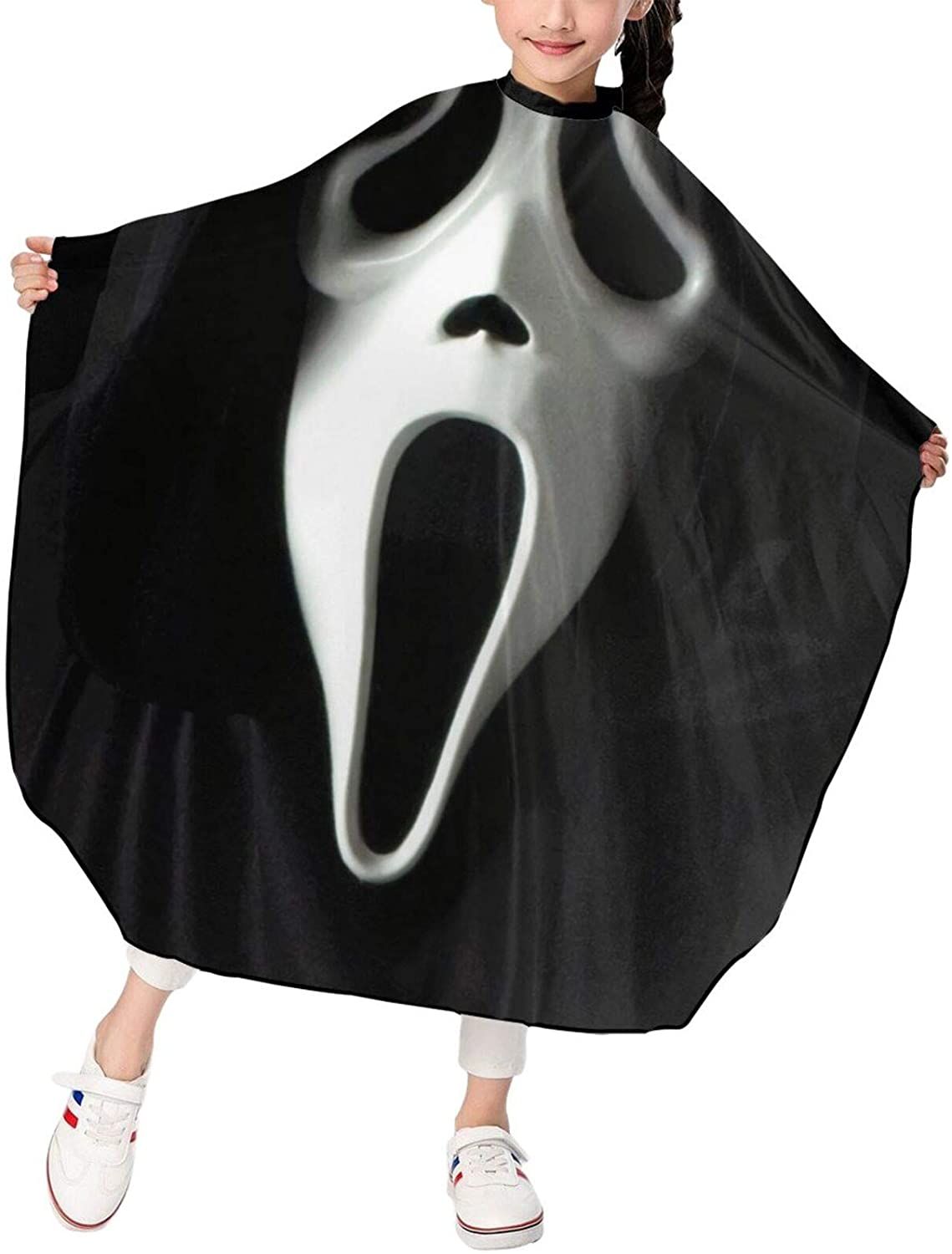 Elizadaisy Scream1 Professional Salon Hair Styling Cloth Apron Cover Gown Barber Cutting Cape Waterproof Adjustable Snap for Hairstylists