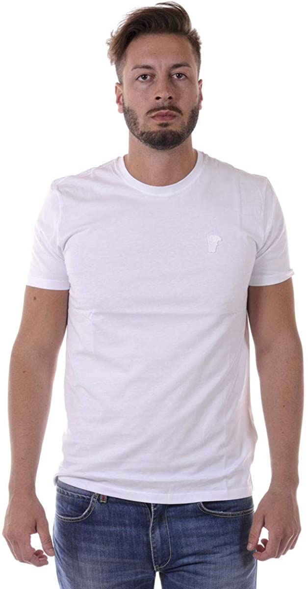 Versace Collection - Man T-Shirt V800683VJ00180 White
