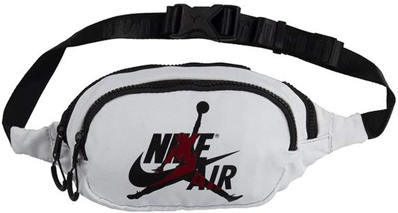 Nike Jordan Jumpman Classic Crossbody Bag (One Size, White Gym Red)