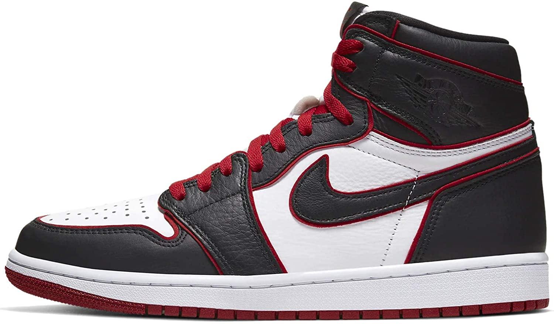 Nike Jordan 1 Retro High OG Mens Fashion-Sneakers 555088-062_11.5 - Black/Gym RED-White