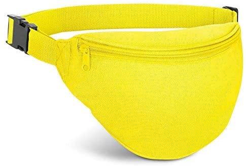 Waist Bag, AirBuyW Adjustable Waist 2 Zipper Travel Sport Running Fanny Pack Bag