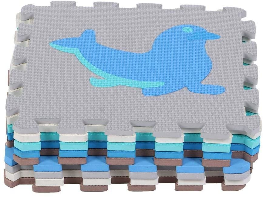 Puzzle Toy, No Odor Convenient Non-Slip EVA Safe Durable Foam Floor Mat, for Baby Children