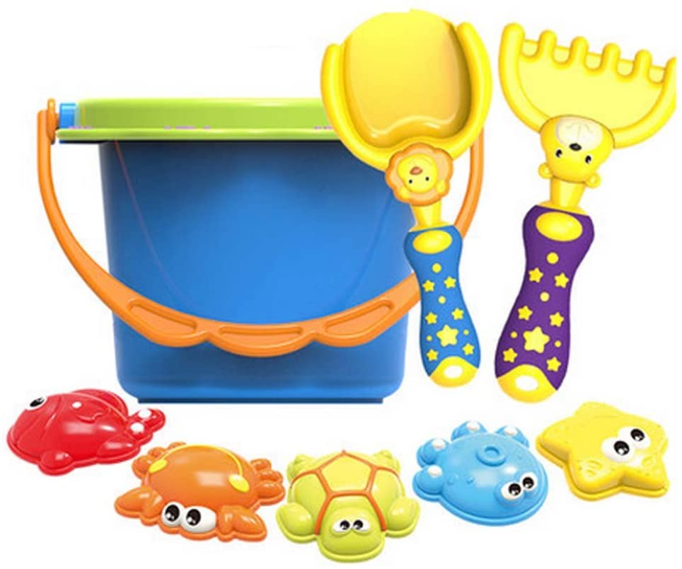 8 Sets of Dugging Tools / Beach Toys for Baby Children's Kids