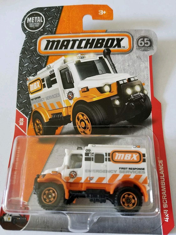 Matchbox Basic Die-Cast MBX Rescue 20/30 - 4x4 Scrambulance