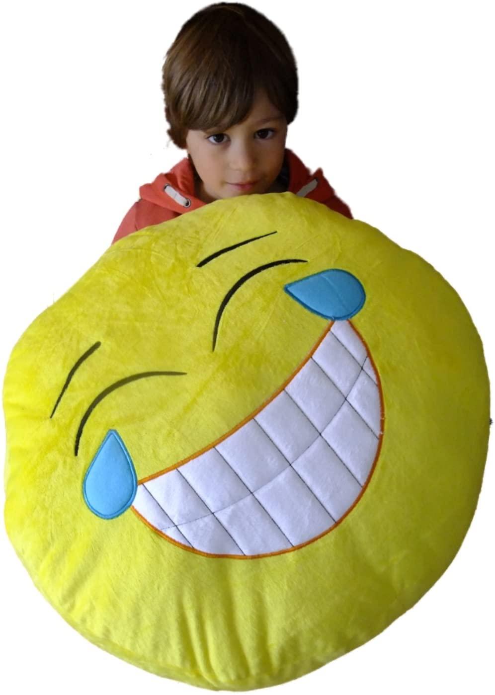 Emoticons Huge Giant Massive Goofy Emoji Cushion Pillow 50cm 20