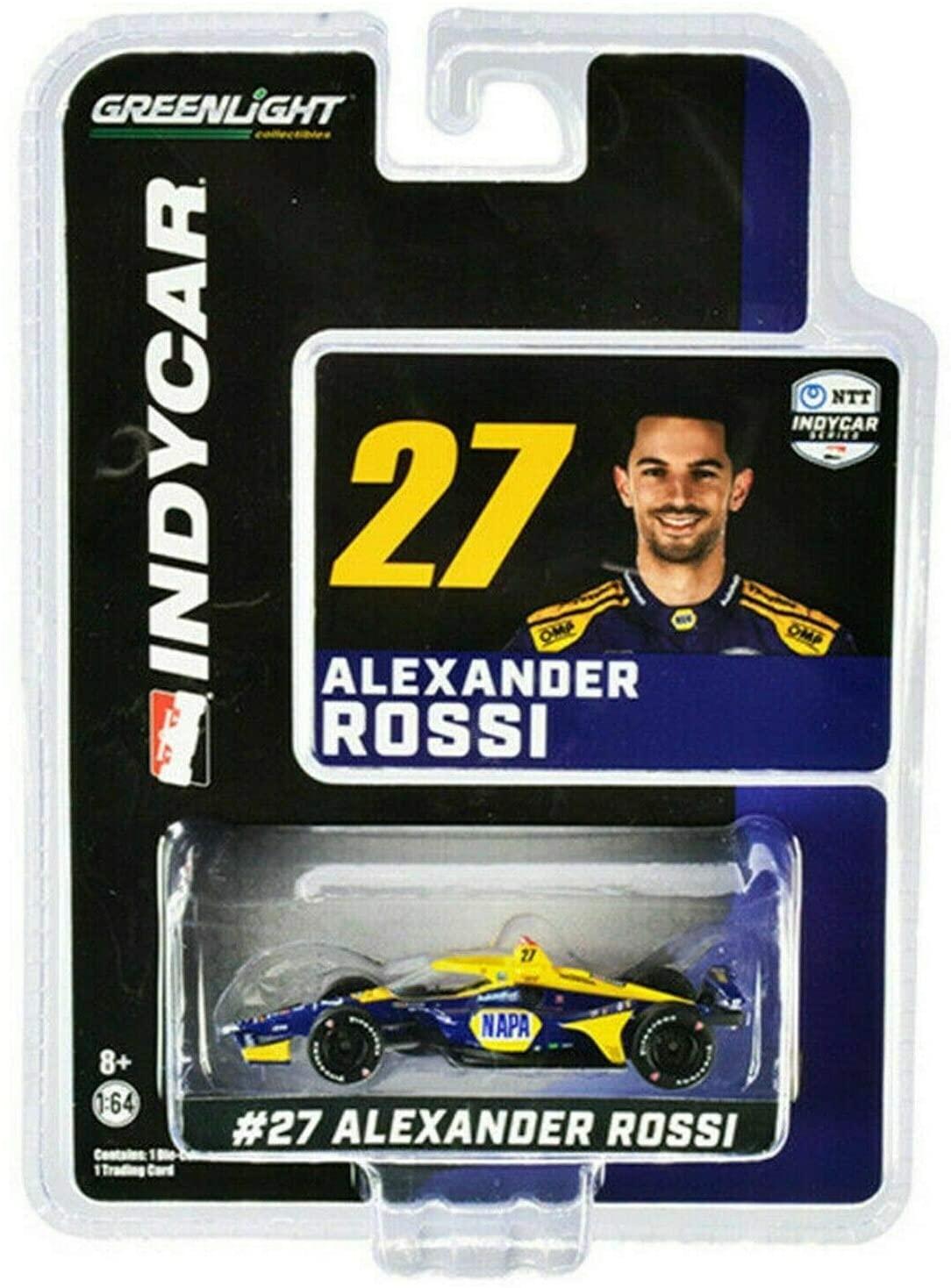 Greenlight Toys 1:64th Alexander Rossi -Andretti Autosport #27 NAPA 2020