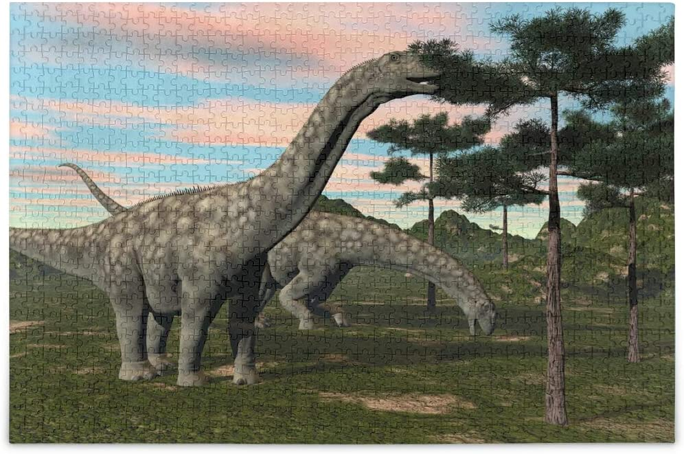 ALAZA Animal Dinosaur Forest Tree Jigsaw Puzzle Leisure Creative Games 500 Pieces for Adults Children Gift
