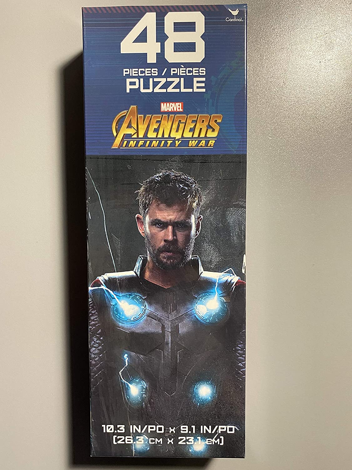 Cardinal Games Avengers Infinity Wars Jigsaw Puzzle - Avengers Thor - 48 Puzzle Pieces