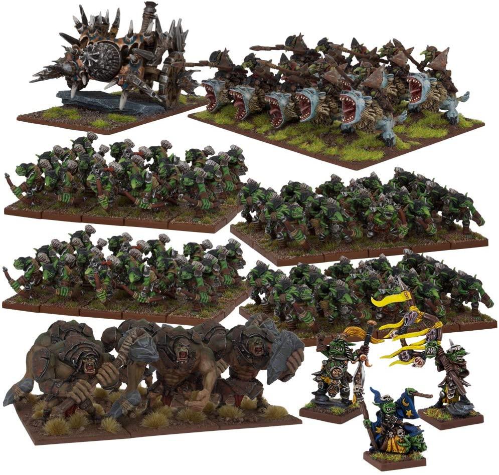 Mantic Games MGKWG107 Goblin Army Play Set, Multi-Colour