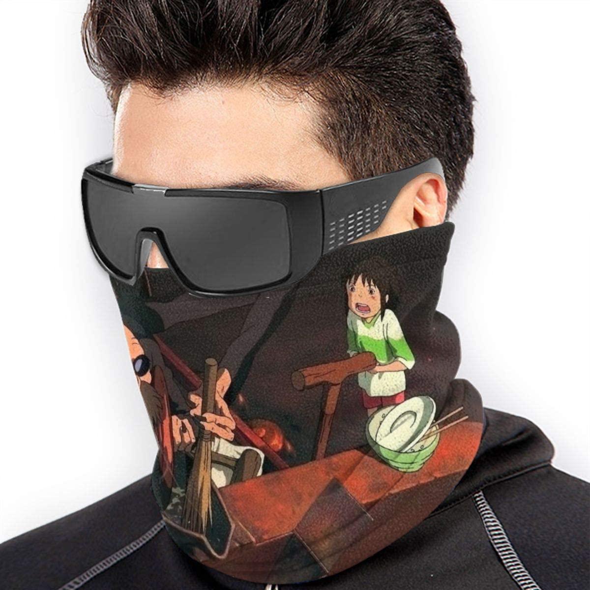 SUNERLADY Spirited Away No Face Multifunction Bandana Dustproof Face Mask Bandana