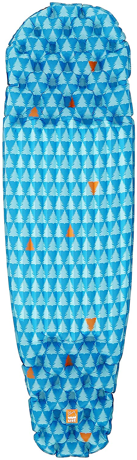 ust Freestyle Lightweight Sleeping air mat with Ultra Light Design, Pump Sack and Carry case for Backpacking, bikepacking, yakpacking, Camping and Hiking