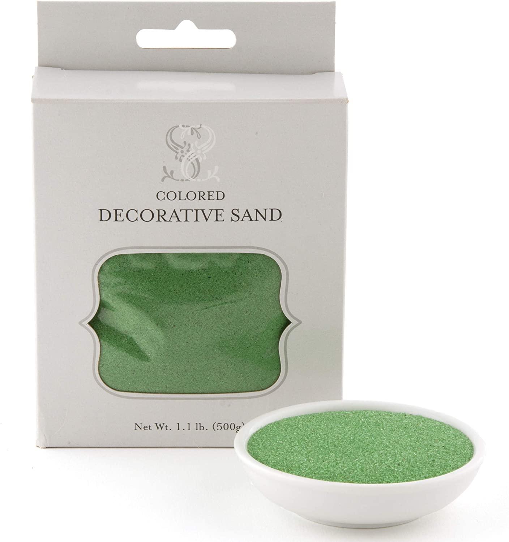 Weddingstar, Classic Green Crystalline Quartz Sand