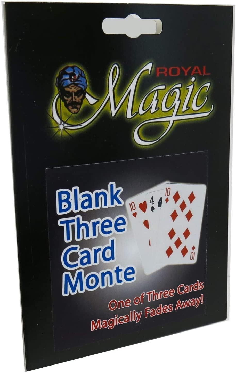 Blank 3 Card Monte - Easy Card Magic Trick