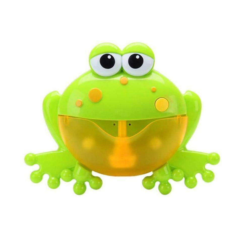 Baby Bath Whale, Bubble Machine Crab Frog Automatic Bubble Maker Blower Music Bath Toys for Baby,#19 Big Frog Bubble Maker