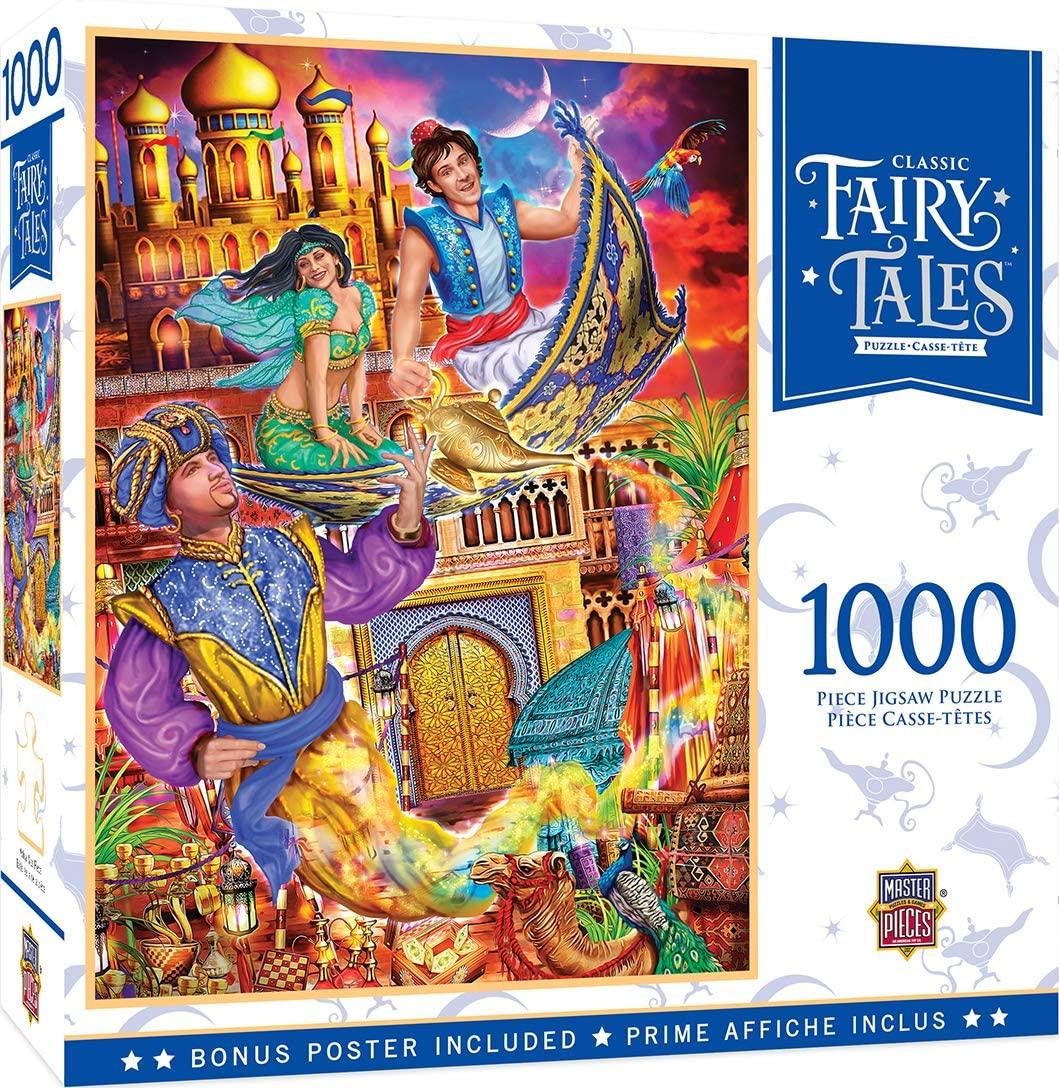 MasterPieces Fairytales - Aladdin 1000-Piece Puzzle