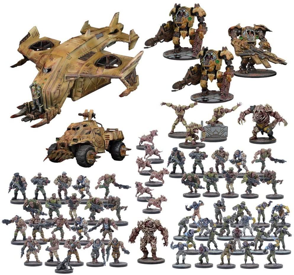 Warpath Universe - Plague MEGA Force