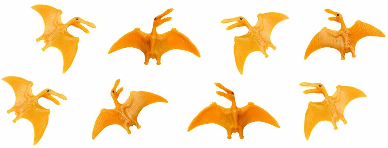 Safari Ltd. Good Luck Minis - Pterosaurs - 192 Pieces - Quality Construction from Phthalate, Lead and BPA Free Materials - For Ages 5 and Up