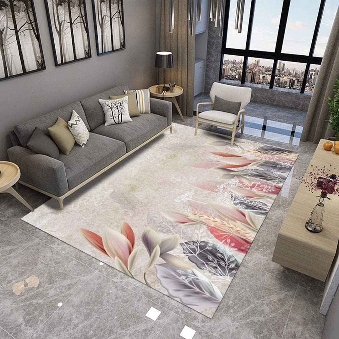Landscape 3D Printed Carpet Non-Slip Area Rug Bedroom Play Mat Soft Flannel Memory Foam Girl Room Carpets for Children Room Decoration