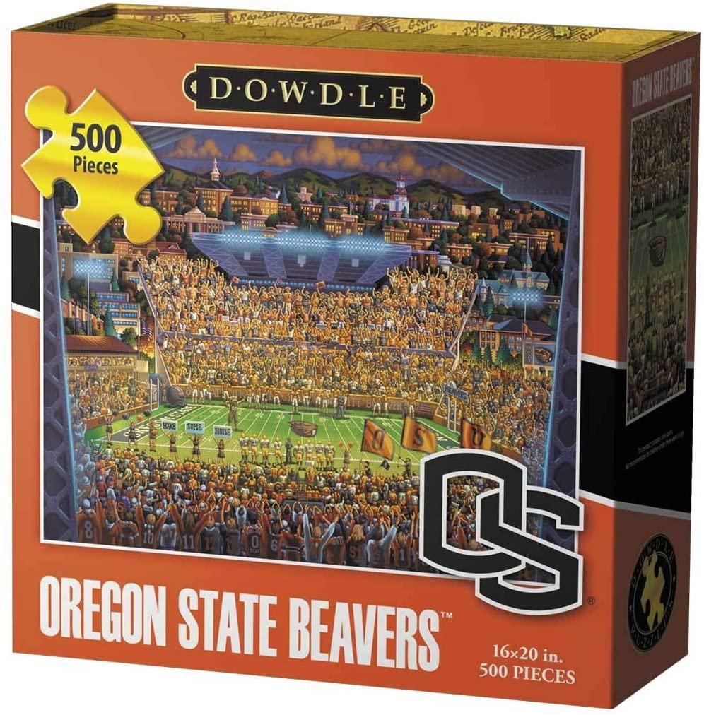 Dowdle Jigsaw Puzzle - Oregon State Beavers - 500 Piece