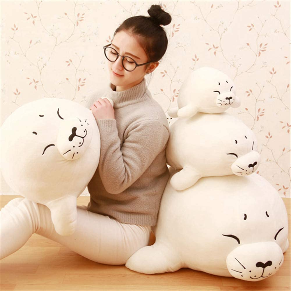 Mr Tree 1 PC 80 cm Soft Sea Lion Plush Toys Sea World Animal Seal Plush Stuffed Doll Pillow Kids Girls Gifts,31.4''