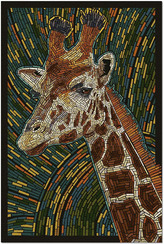 Giraffe - Mosaic (Premium 1000 Piece Jigsaw Puzzle for Adults, 19x27)