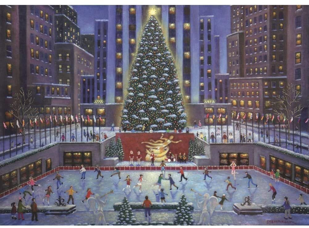 NYC Christmas 1000 PC Puzzle