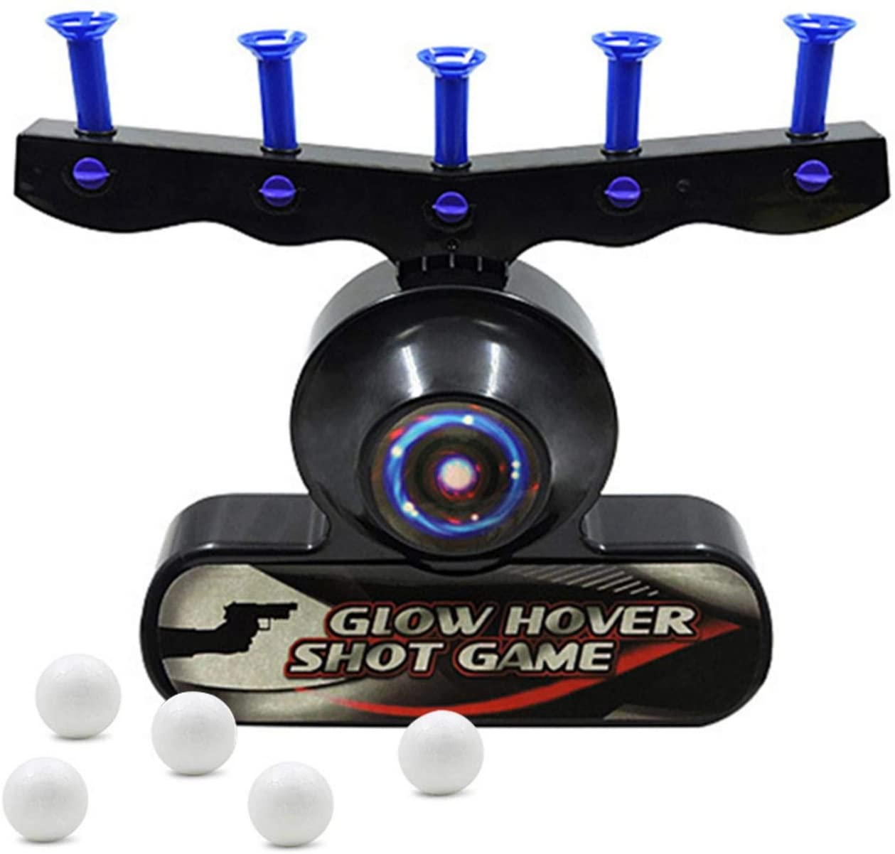 wuxiaobo Electric Floating Flying Ball Target Boy Toy Gun Dart Target Shooting Target Toy Floating Ball Electronic Shooting Game Safe for Boys Over 14