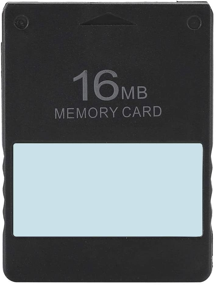 Ccylez 8MB/16MB/32MB/64MB Memory for PS2 Console, MCboot FMCB Memory Card Module Game Memory Card with Stable Performance for PS2(16MB)