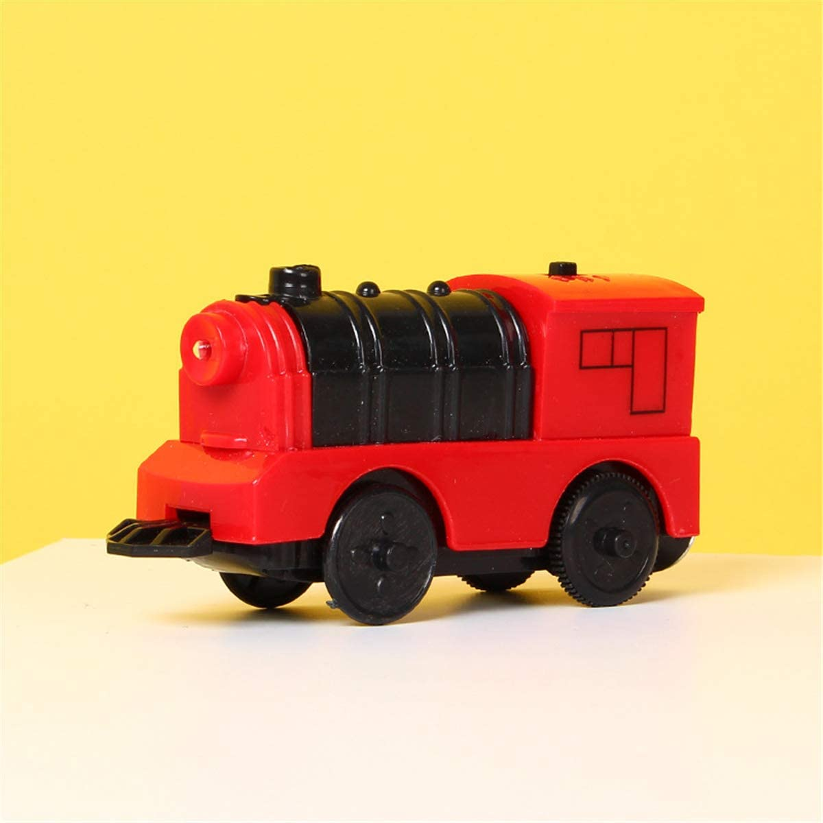 7haofang Combination of Magnetic Electric Locomotive Train Wooden Track Accessories