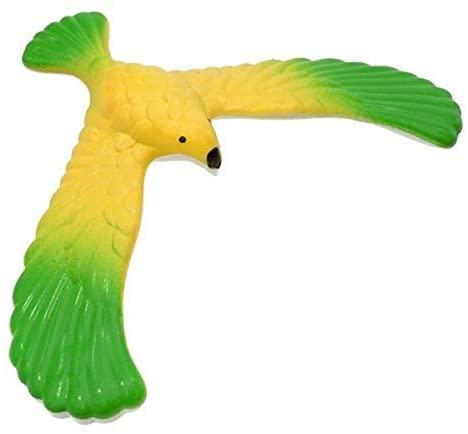 Pixnor Balance Bird with Pyramid Stand Balancing Birds Toys