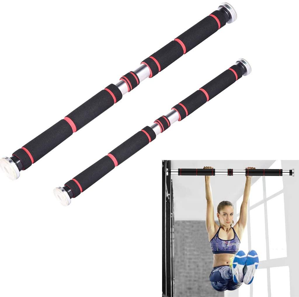 WERTT Horizontal Bar Indoor Door Punch-Free Pull-ups Bar Home Fitness Workout Bar Equipment (Product Load: 440lbs (200KG)